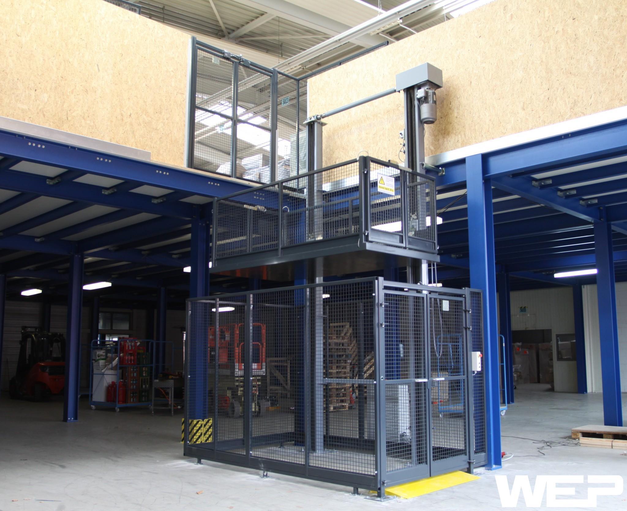 Lastenaufzug Lasten Aufzug Lastenlift Aufzug preis Reifen lift Reifenlift Materiallift Etagenlift Etagenheber Lastenheber ZSL Pro 15